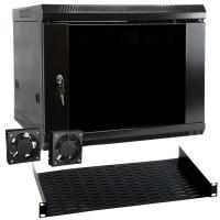 Megamounts 97095010M 9U Wall Mount Rack Enclosure Server ...