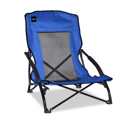 Outdoor Sports Chairs Extra Wide Recliner Chair Caravan Compact Blue Fitness