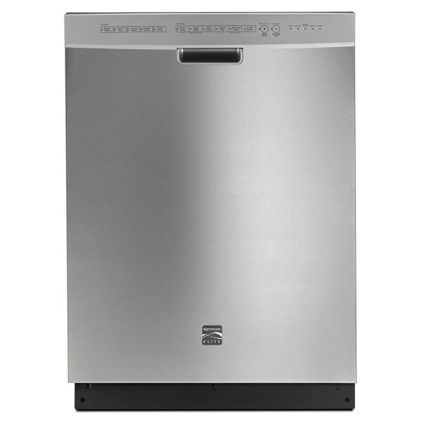 Kenmore Elite Dishwasher Stainless Steel