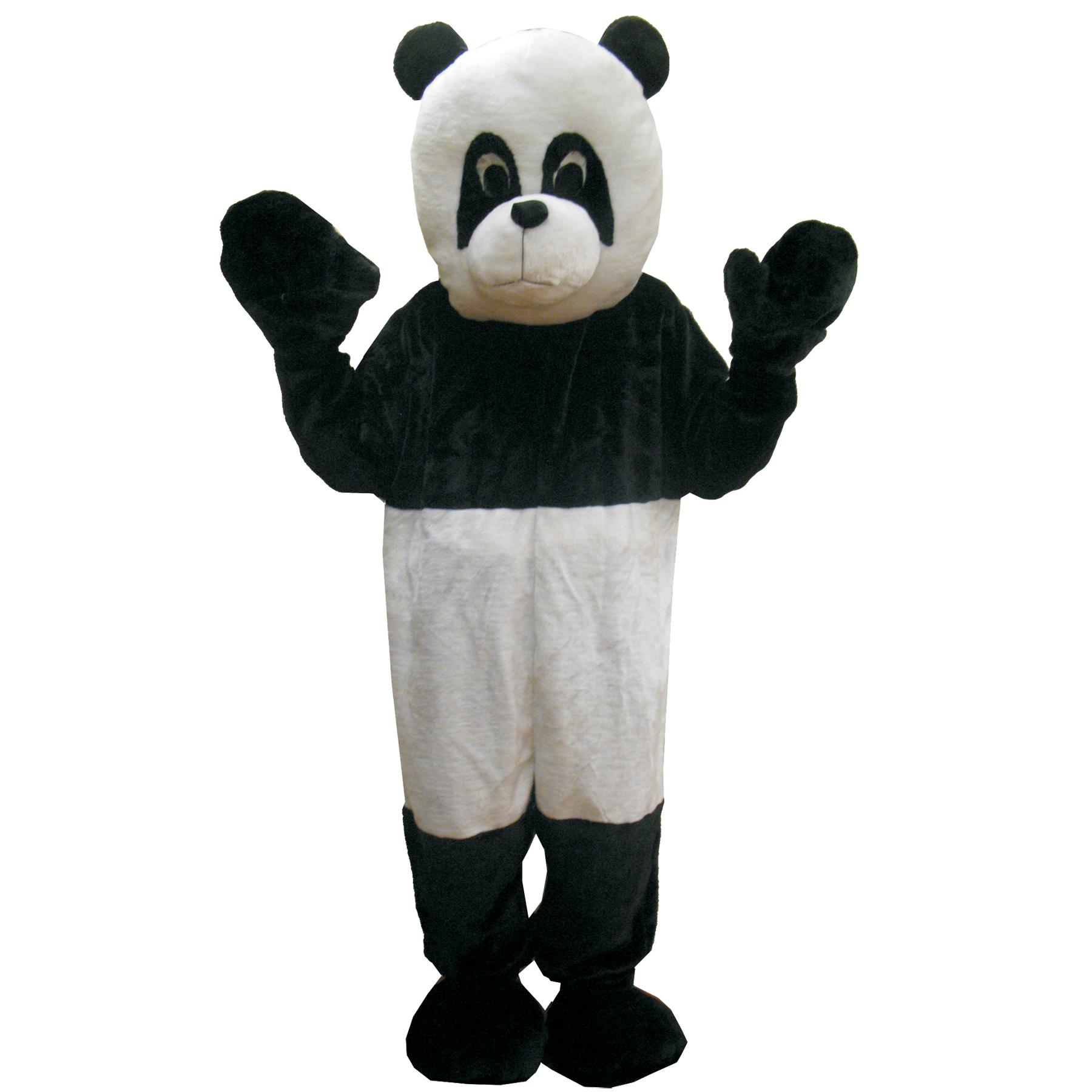Men' Panda Mascot