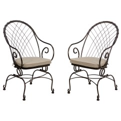 C Spring Patio Chairs Swing Hammock Chair With Stand Jaclyn Smith Valley Motion Bistro Outdoor