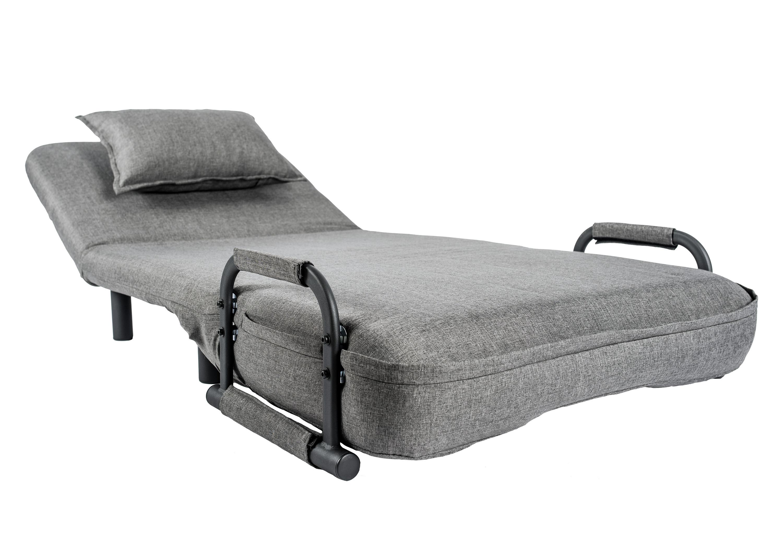 single sleeper chair zeus echo gaming pragmabed convertible