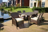 Ty Pennington Style Parkside 7pc GRC Dining Set - Limited ...