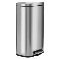 30 Gallon Kitchen Trash Can Buffet Halo L 8 Gal Premium Stainless Steel Step