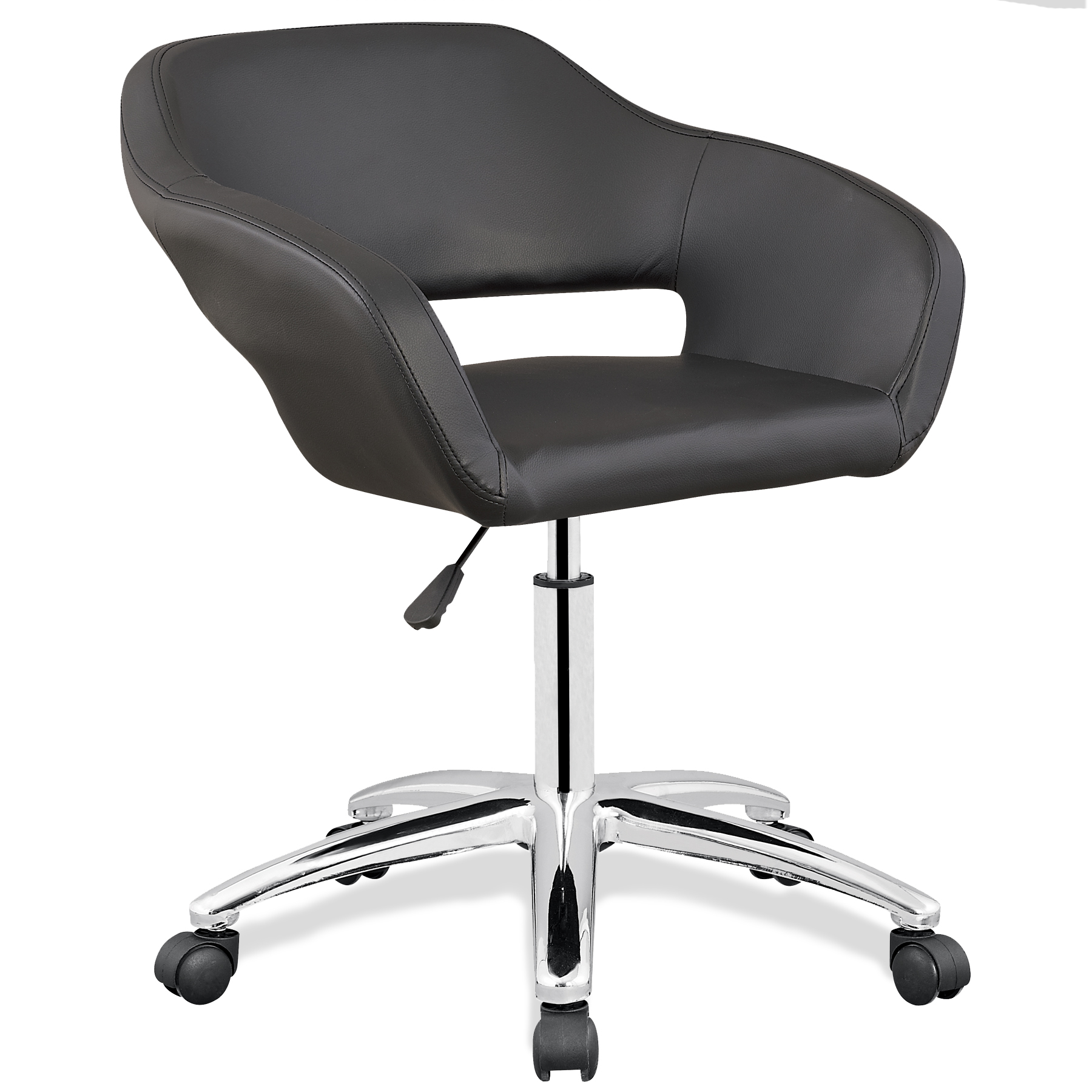 Black Arm Office Chair  Kmartcom