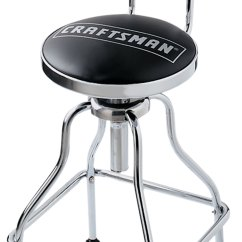 Chair Stool Black Camping Chairs Sale Craftsman Adjustable Hydraulic Seat