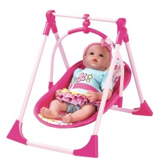 Swing Chair Baby Decorative Lumbar Pillows For Chairs Adora Dolls 4 In 1 Play Set Carrier Seat And
