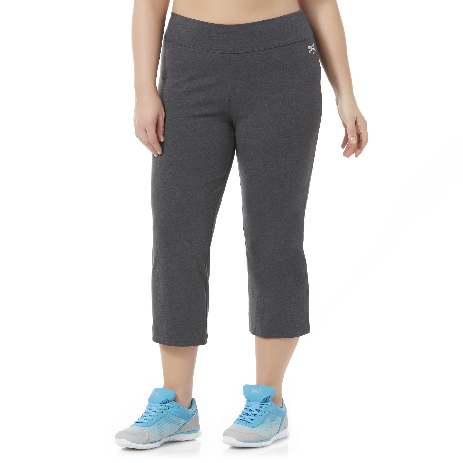 Everlast Sport Women' Capri Athletic Pants