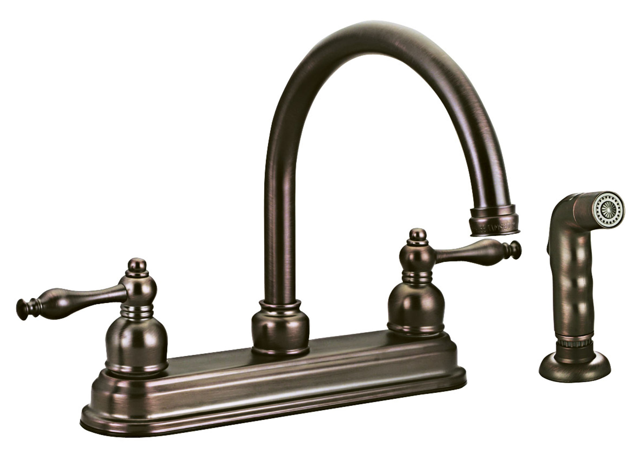 antique copper kitchen faucet who makes the best cabinets design house 545343 saratoga with sprayer