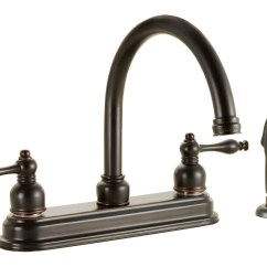 Sears Kitchen Faucets Viva Towel Design House 545319 Saratoga Faucet With Sprayer
