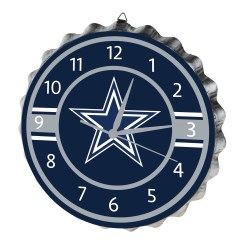 Dallas Cowboys Chairs Sale Zebra Chaise Lounge Chair Nfl Bottle Cap Wall Clock