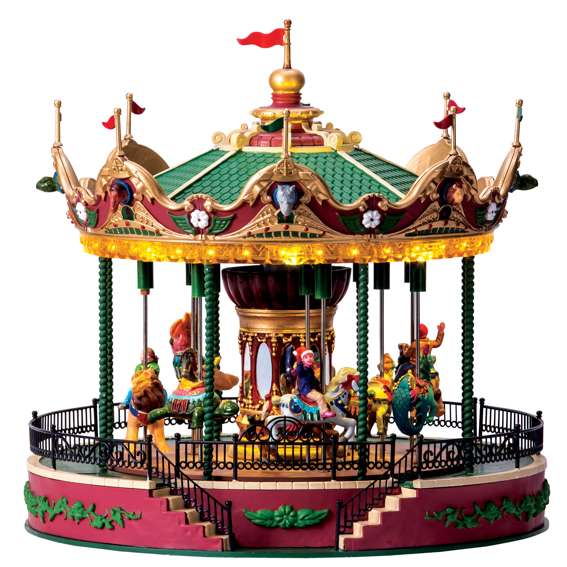 LIC LIMITED Carnival Village Jungle Carousel With 45V