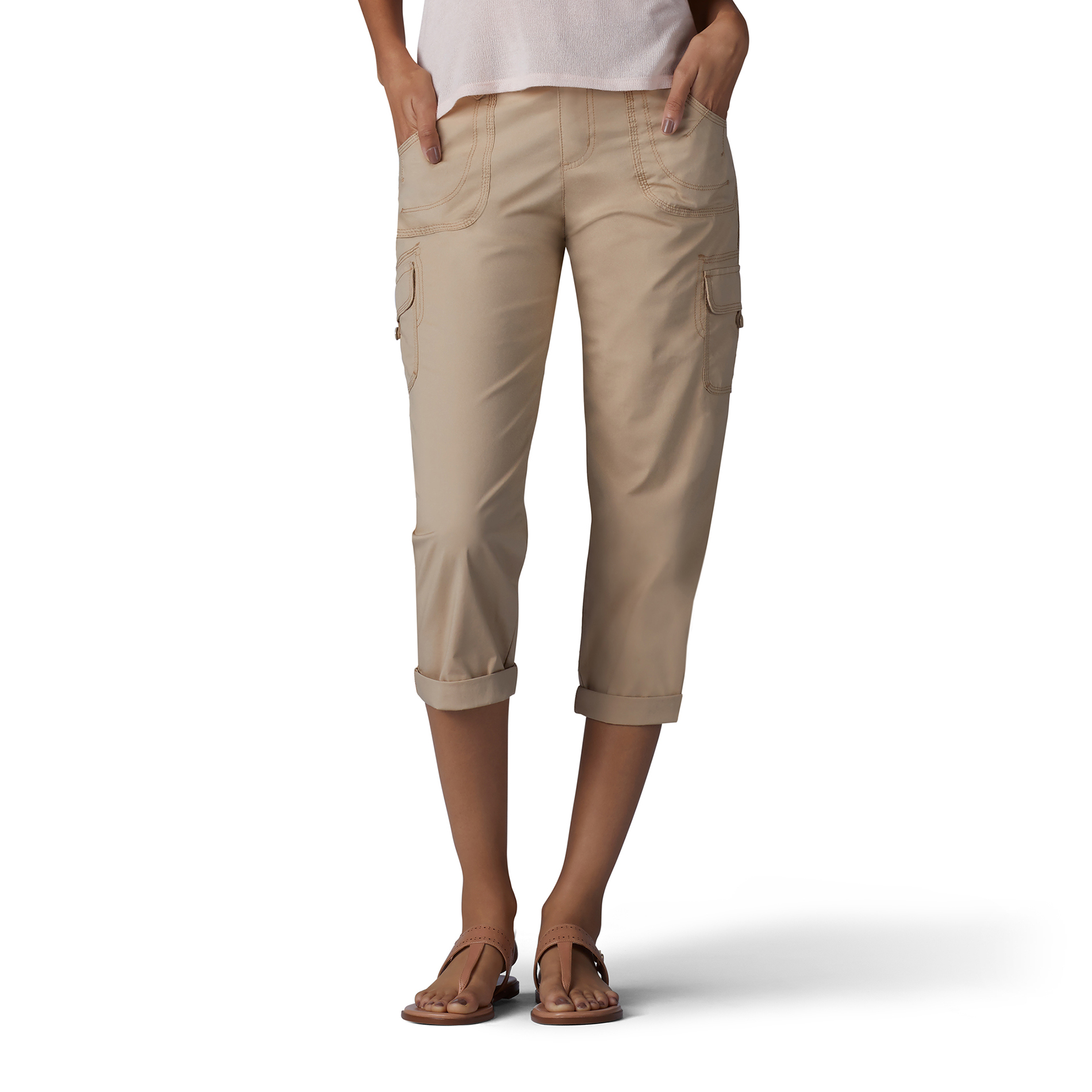 Lee Women Nikki Cargo Capri Pants