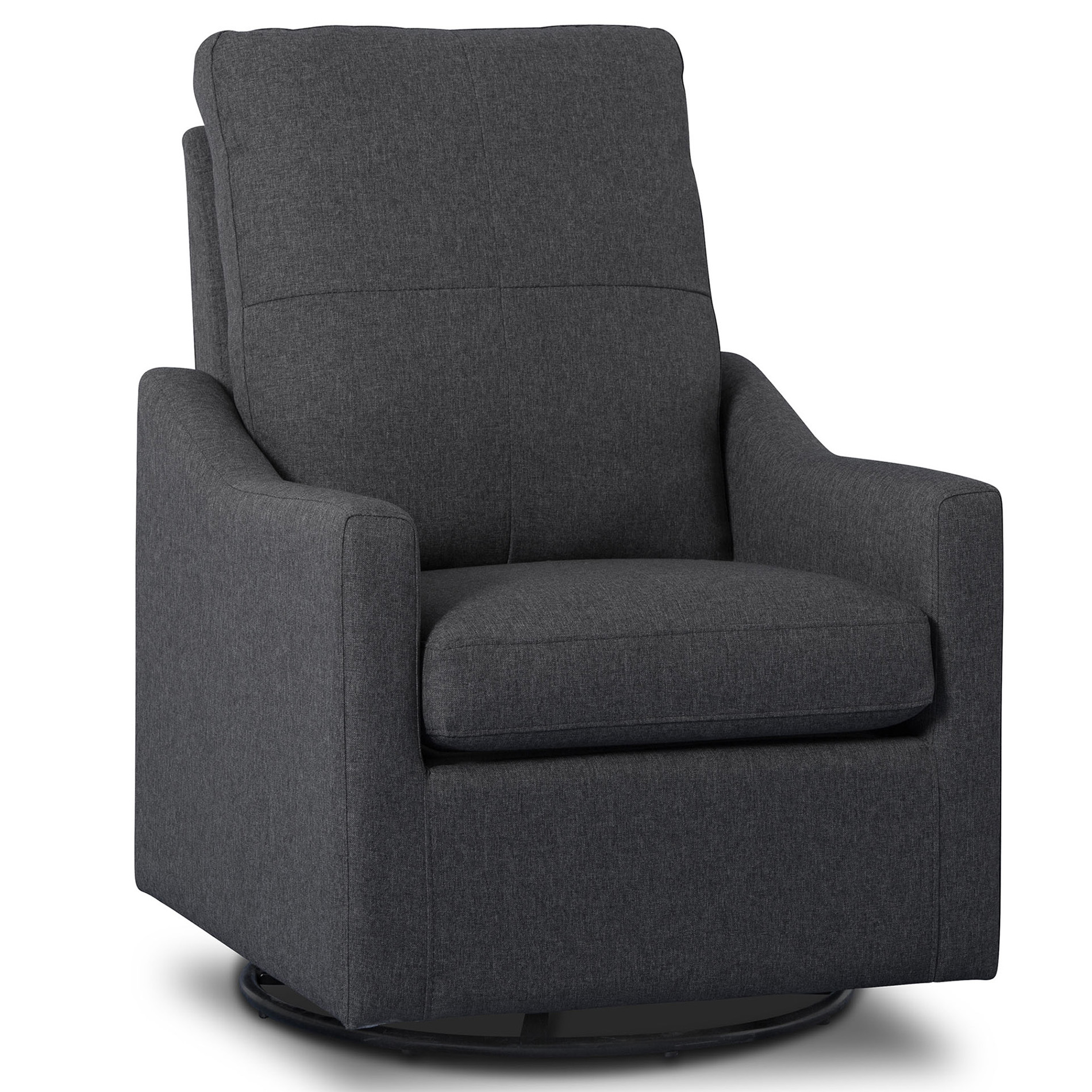 Delta Children Chair Delta Children Kenwood Nursery Glider Swivel Rocker Chair Charcoal