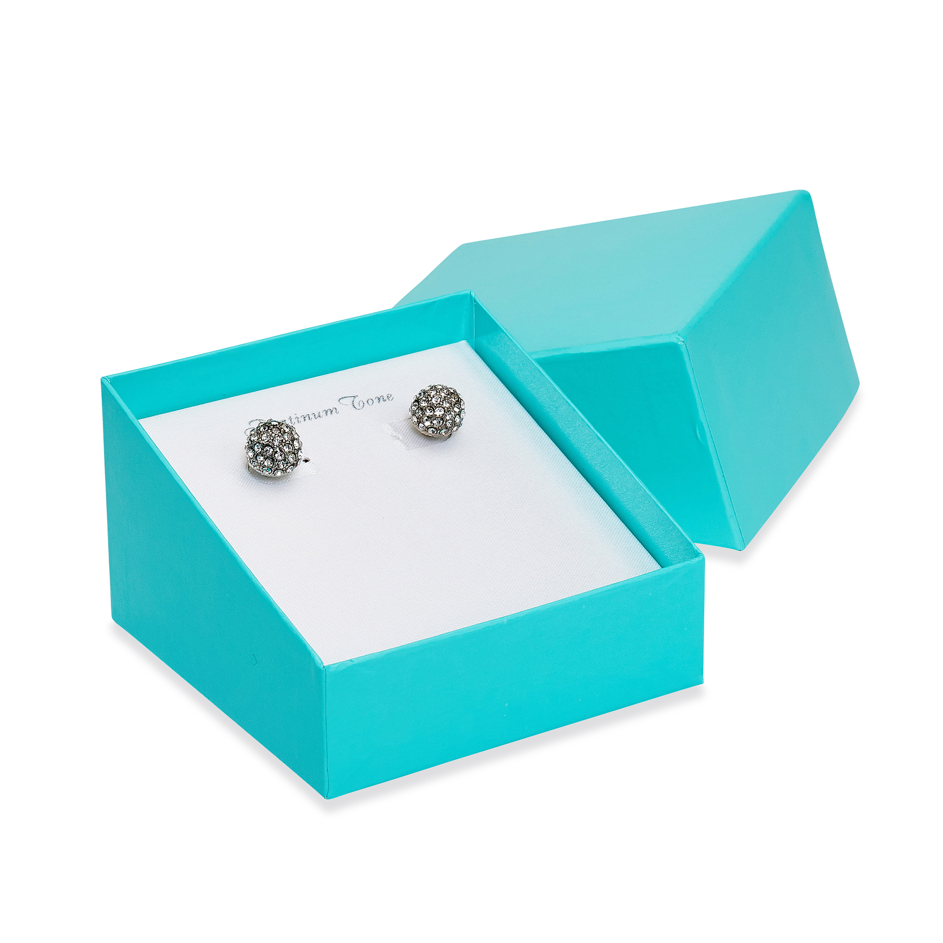 Embellished Fireball Earrings