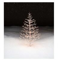 Pre-Lit Stick Christmas Tree Decoration: Elegant and ...