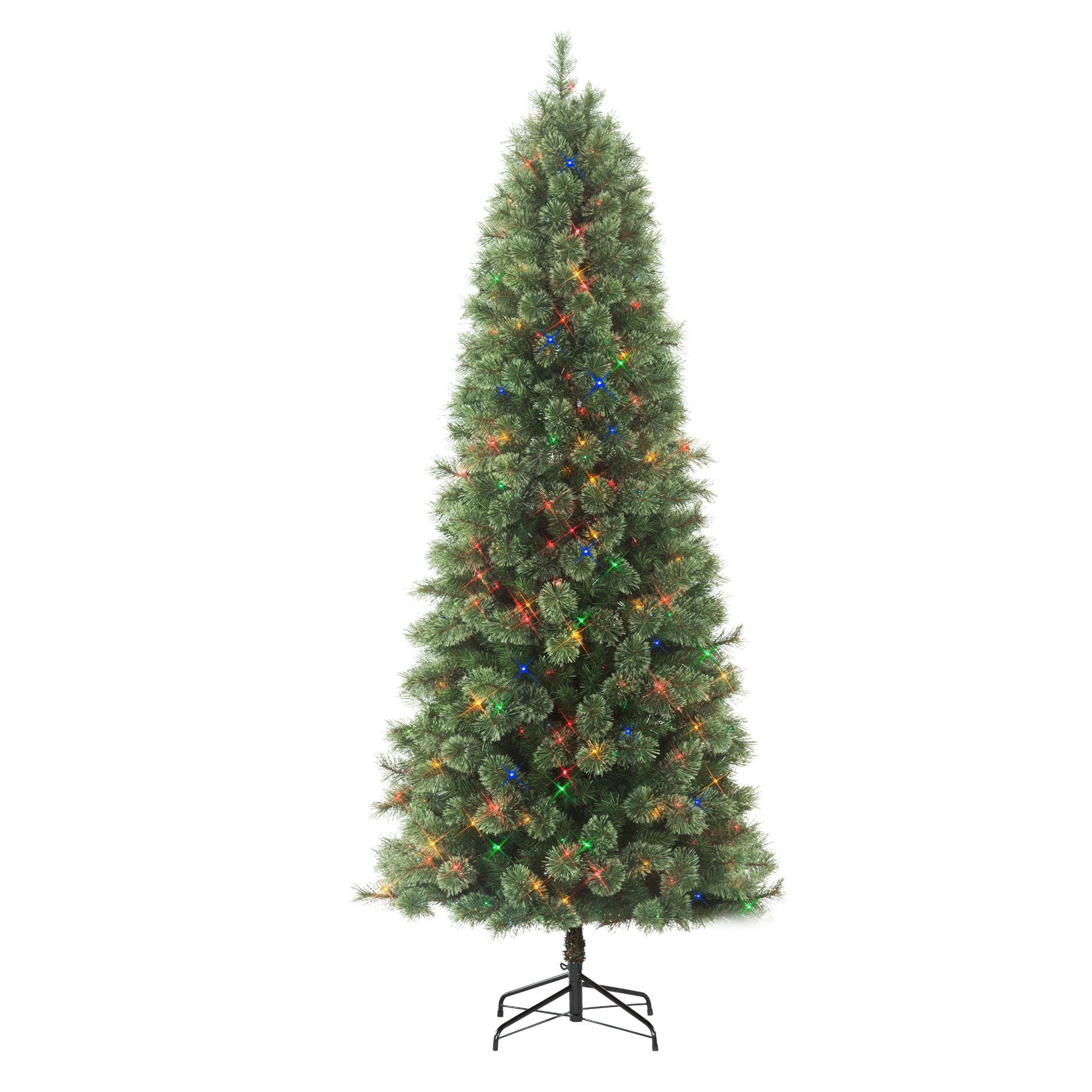 Slim Cashmere Pine Christmas Tree