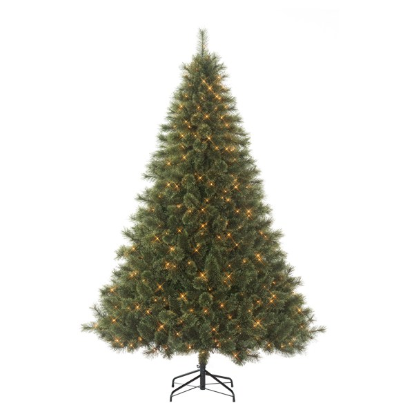Donner & Blitzen Incorporated 7.5' Westchester Deluxe Cashmere Pine Pre-lit Christmas Tree With