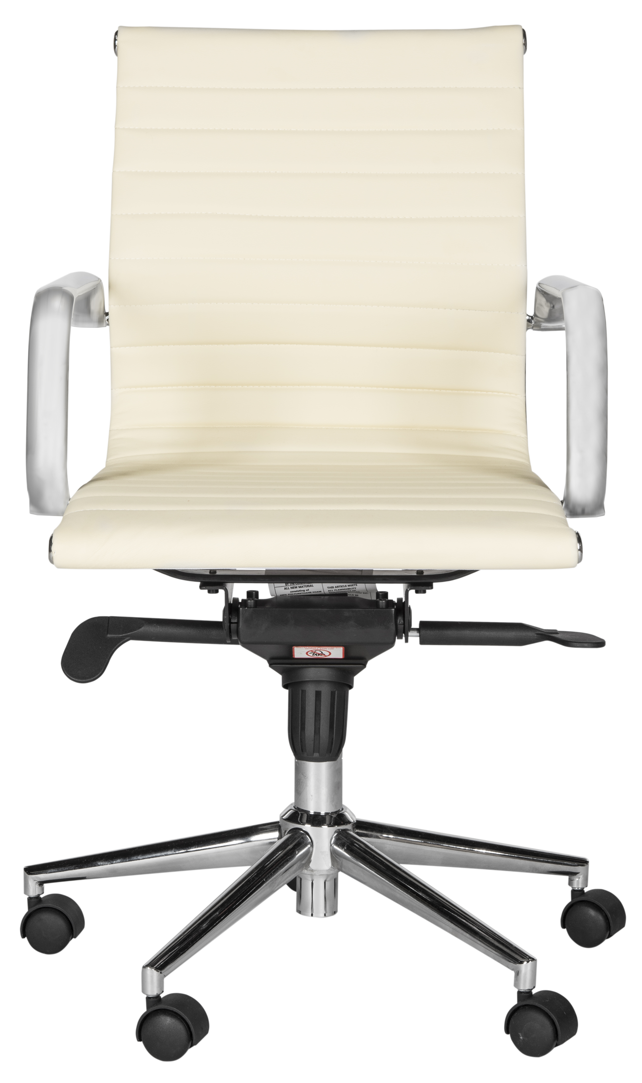 desk chair groupon real leather recliner chairs white canada