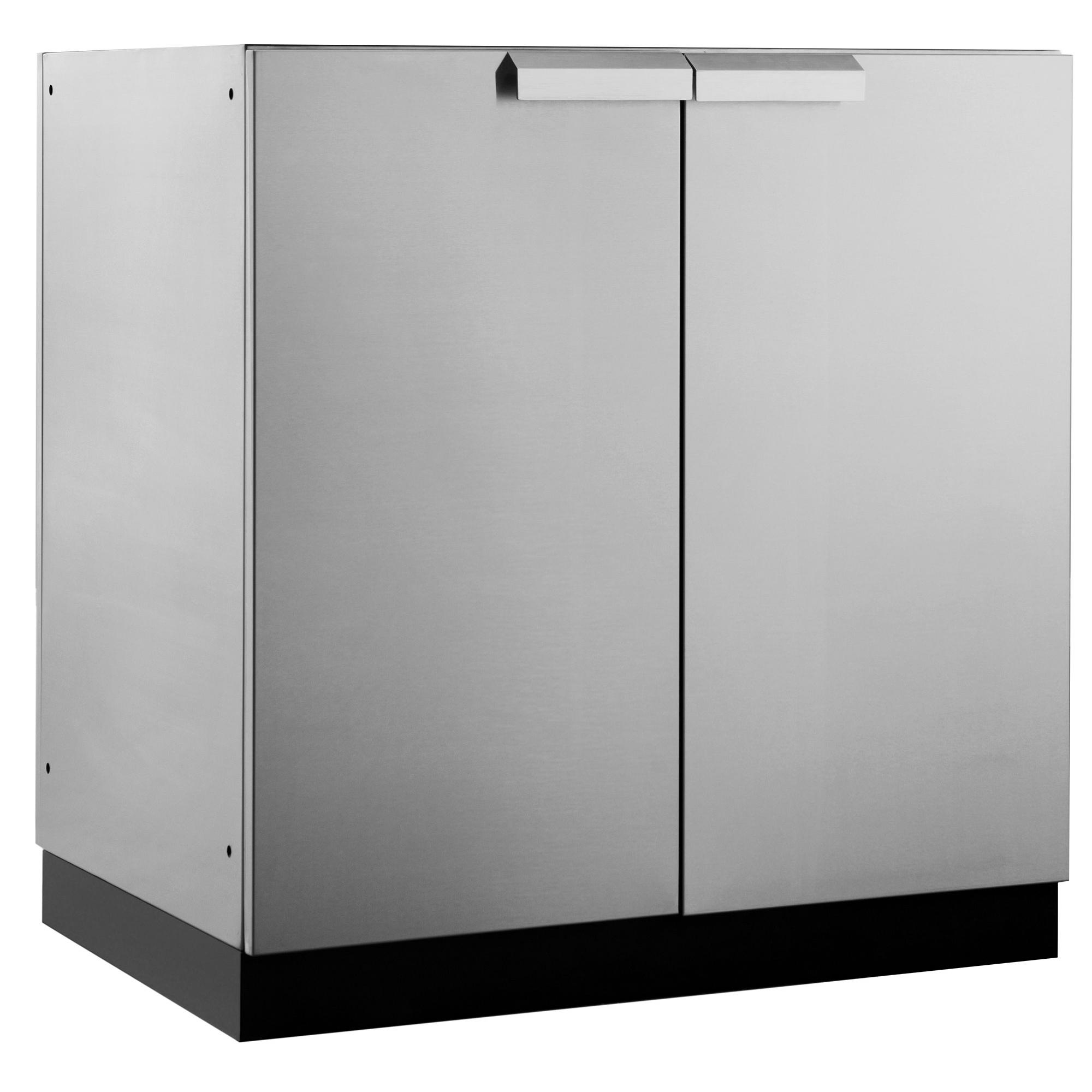 stainless steel restaurant kitchen cabinets kemper newage products outdoor 32 quotw x 23 quotd 2 door cabinet