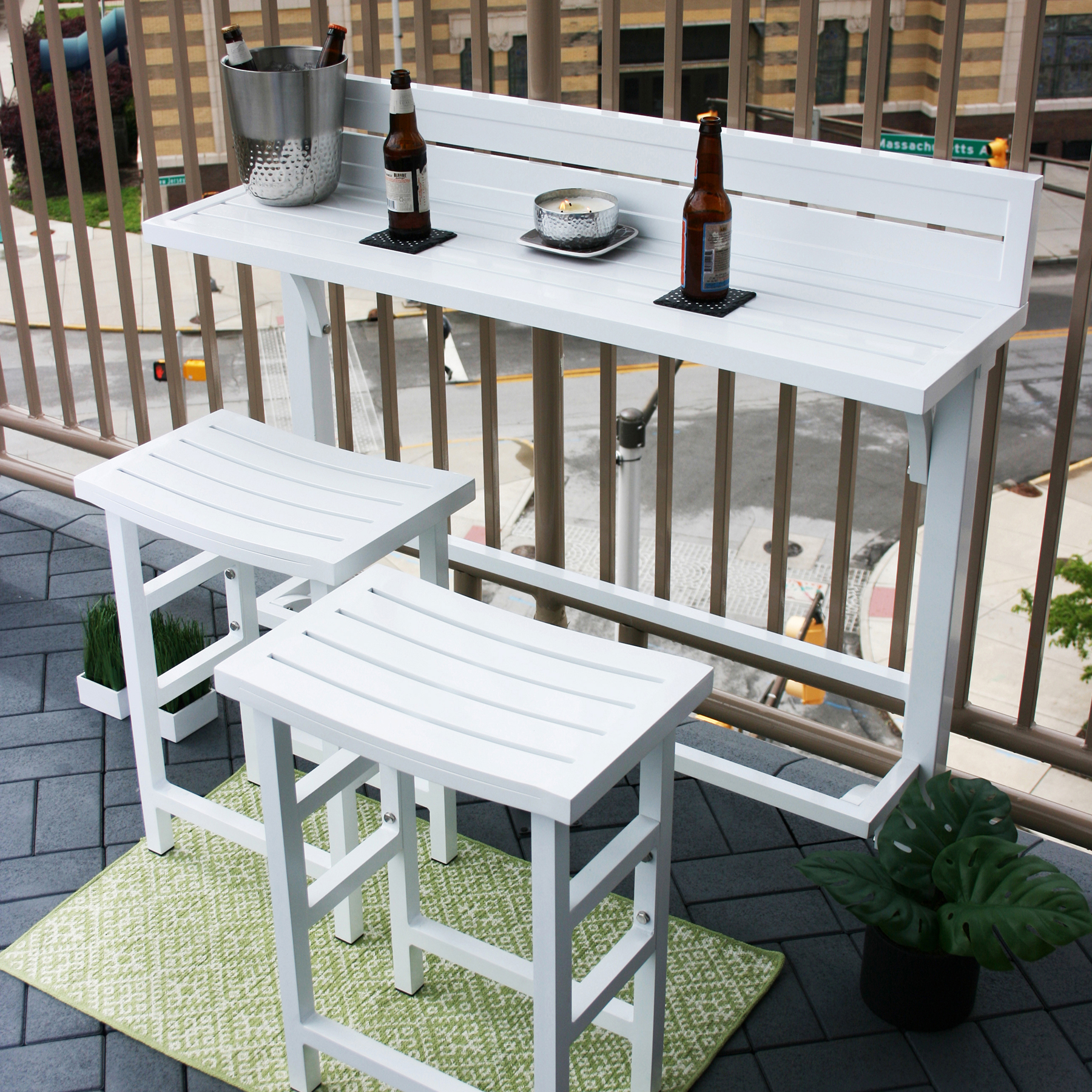Outdoor Balcony Furniture Bar