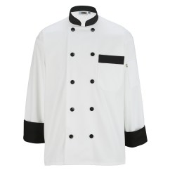 Kitchen Wear Design And Remodeling Edwards Men S Lab Kmart Unisex Big Tall Long Sleeve Coat With Black Buttons