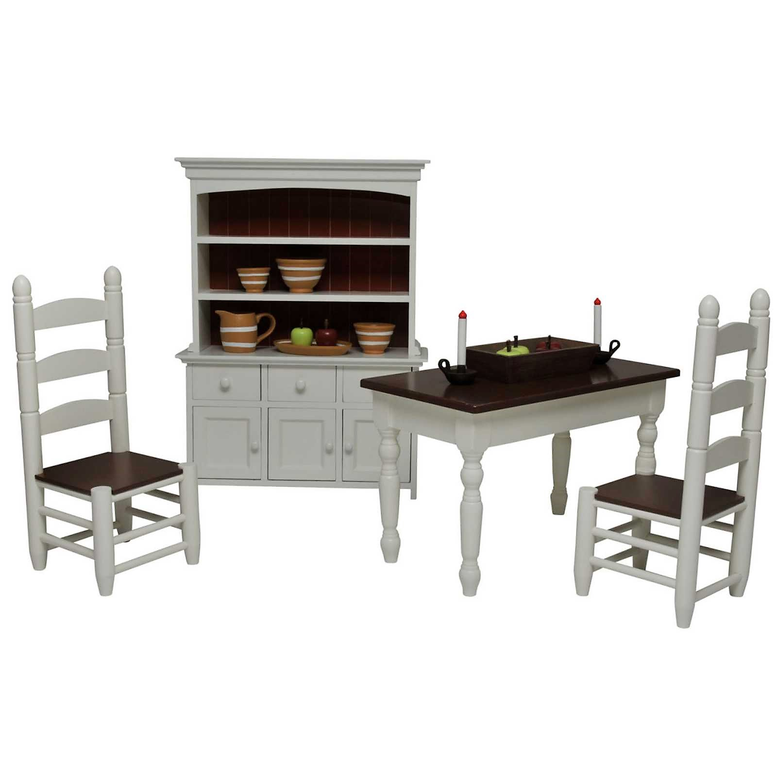 18 doll table and chairs thomasville windsor chair the queen s treasures 23 pc farm furniture accessories