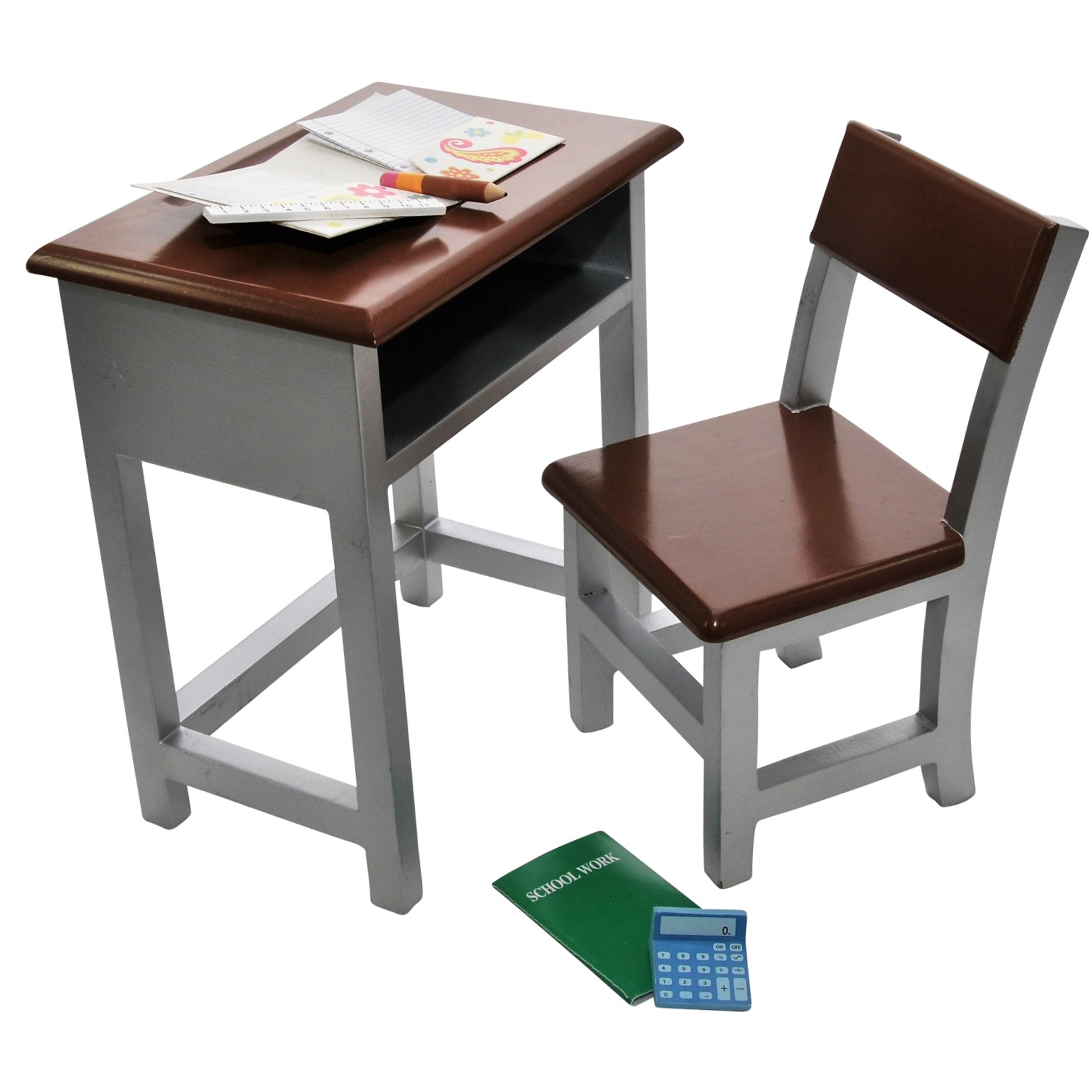 wood chair accessories revolving net the queen 39s treasures wooden modern school desk and