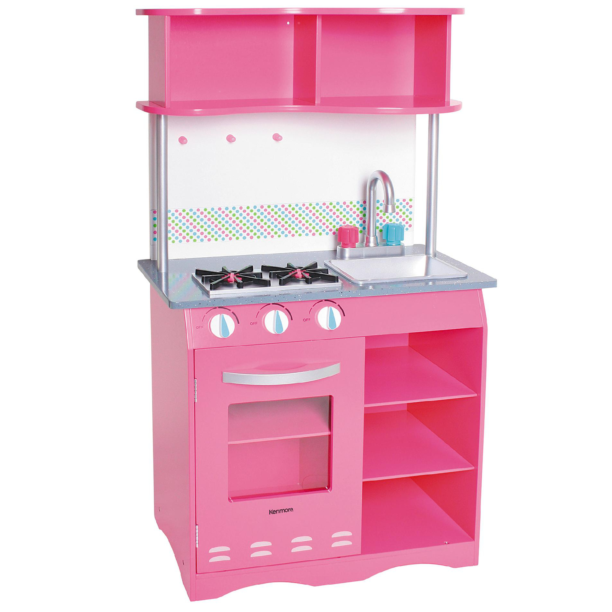 wood kitchen playsets kohler barossa faucet play kitchens sears kenmore wooden playset