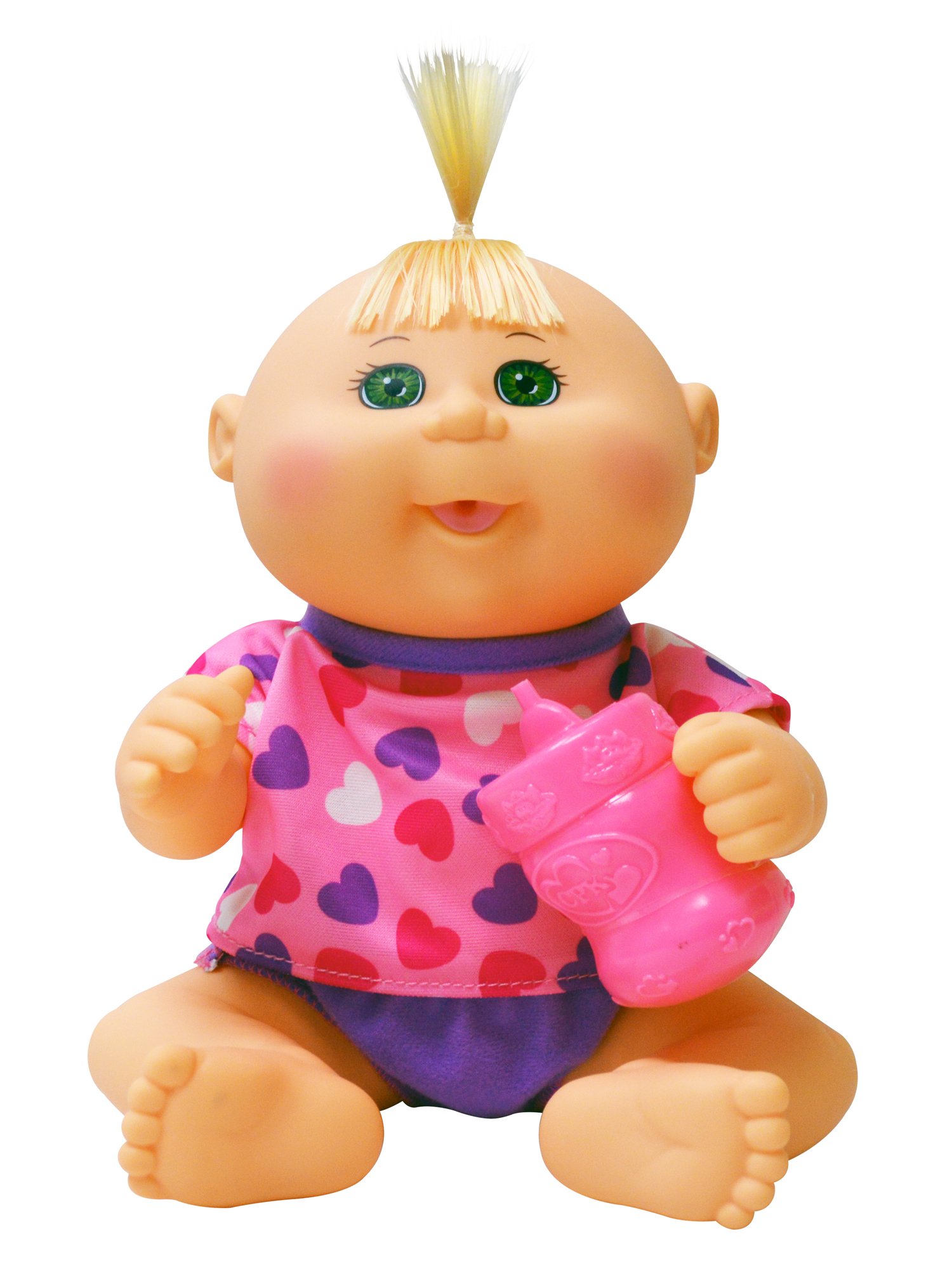 "Cabbage Patch Kids 11"" Drink ' Wet Newborn - Pink Hearts"