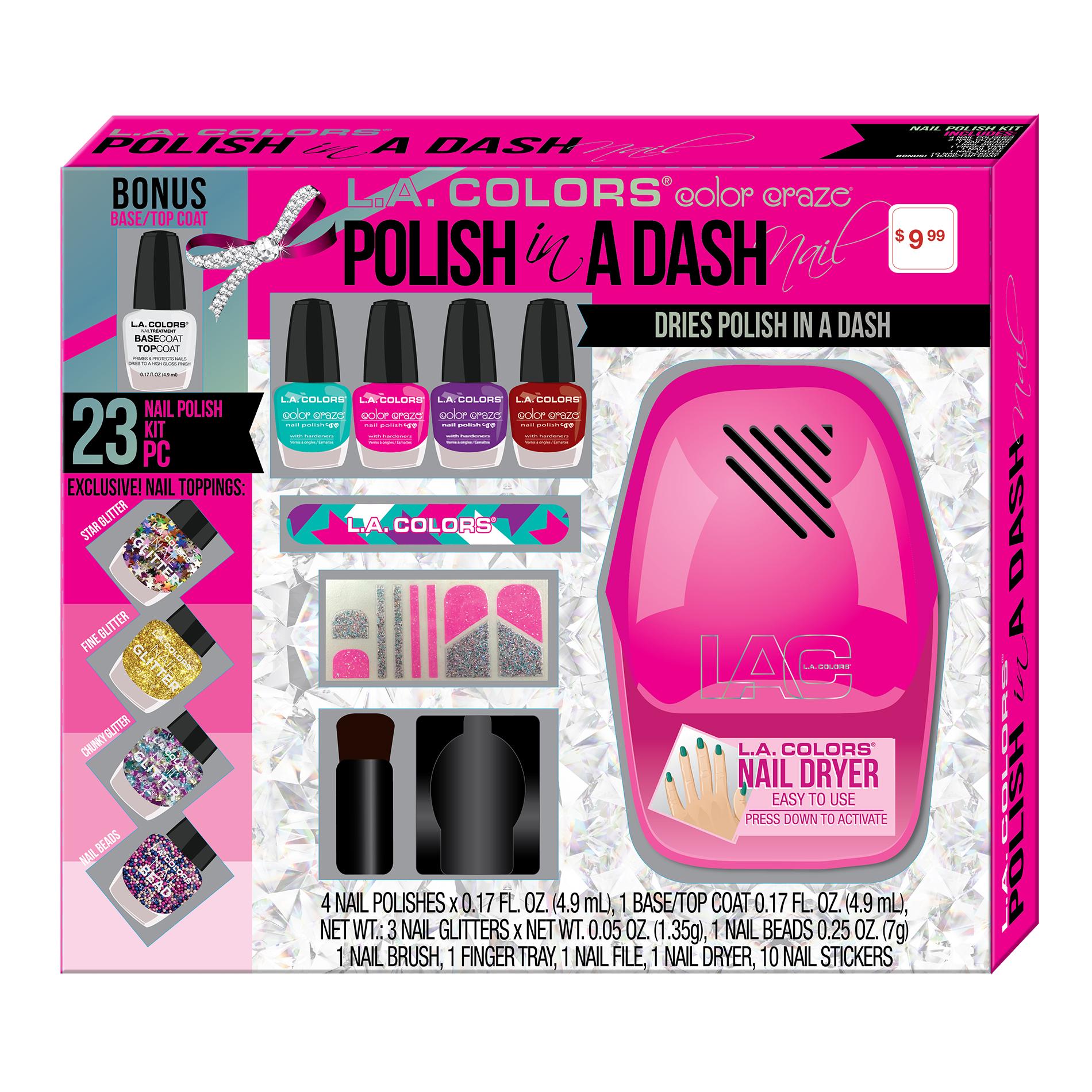 l. colors polish in dash 23