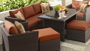 Grand Resort Bedford 6 Pc Outdoor Seating Set With Coffee