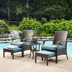 Garden Oasis Patio Chairs Kitchen Table And 6 Banks 5 Piece Seating Set Shop Your Way Online