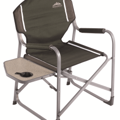 Outdoor Folding Chair With Side Table Fishing Umbrella Northwest Territory Ac3052 Director S Fold Up Sears Outlet