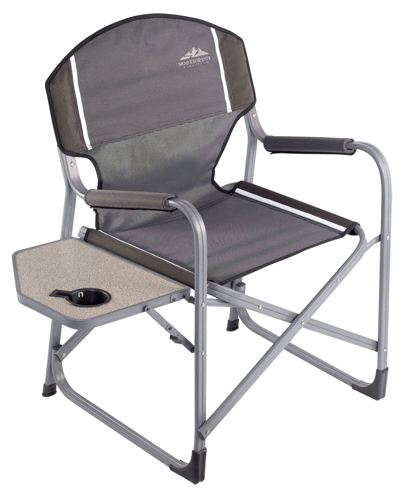 Northwest Territory Directors Chair with FoldUp Side Table  Shop Your Way Online Shopping