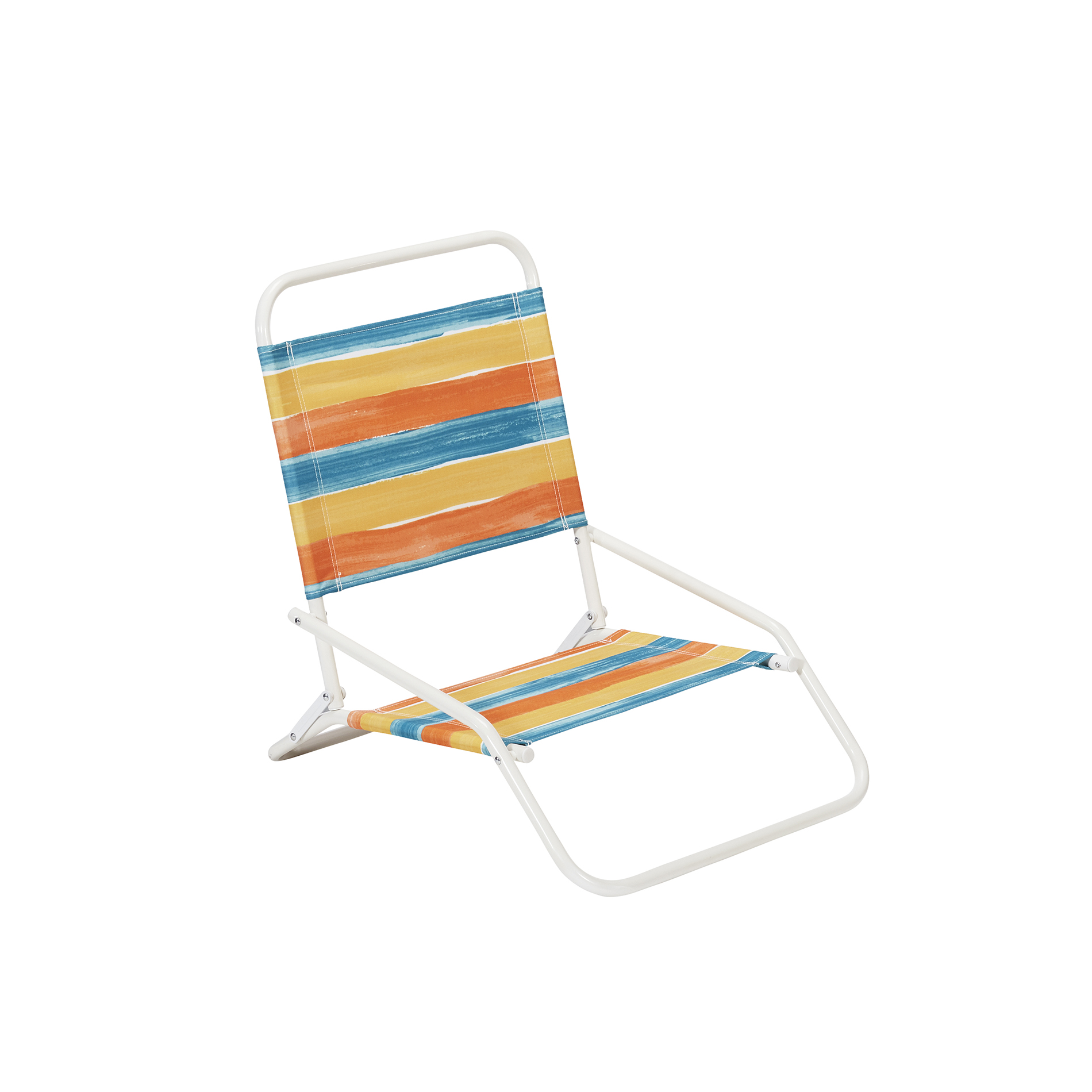 Low Back Lawn Chairs Low Back Beach Chair Striped Outdoor Living Patio