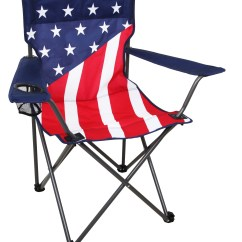 American Flag Chair White Leather And Ottoman Northwest Territory Us Folding Fitness