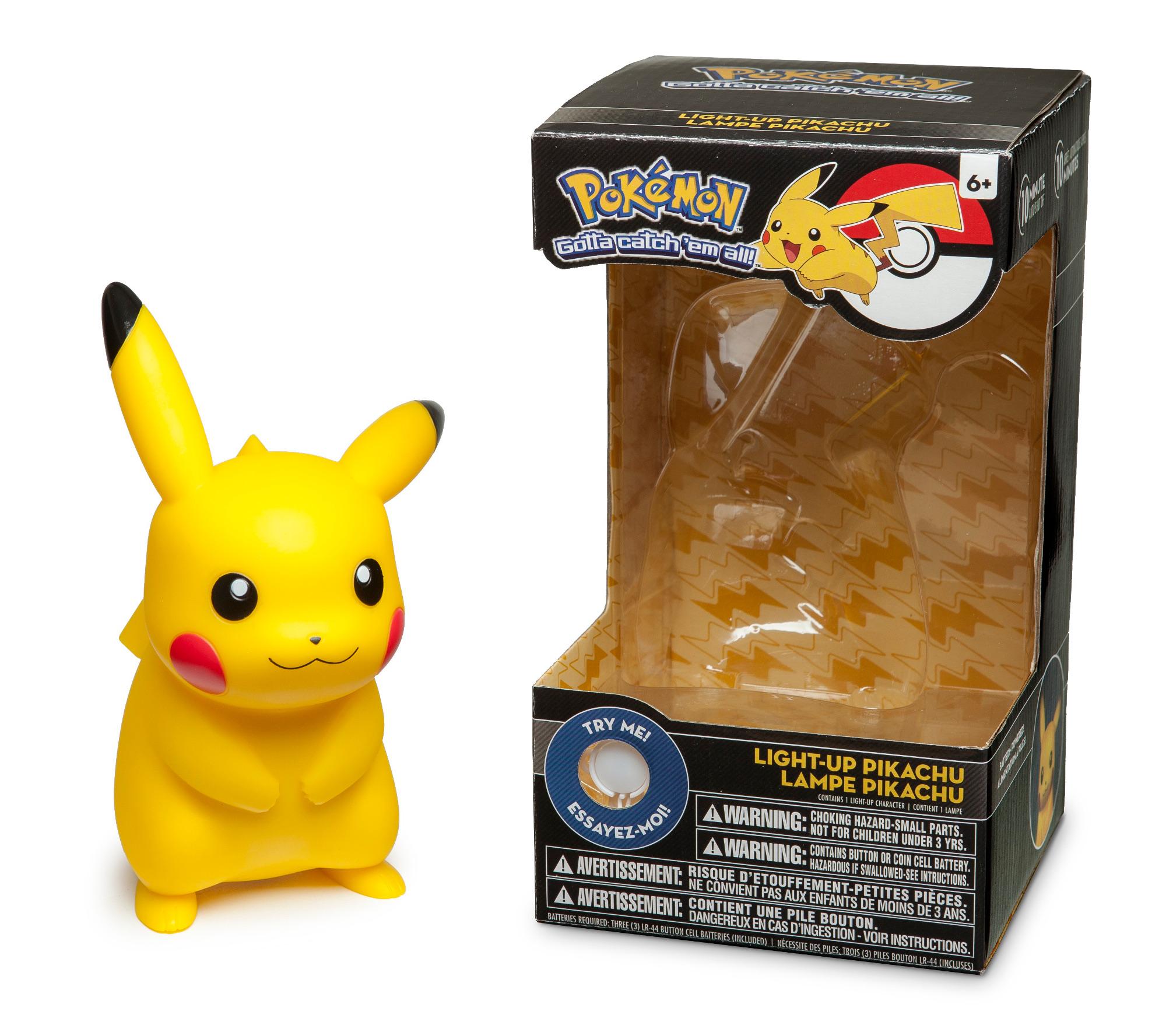 Pokemon Light Up Pikachu Figure