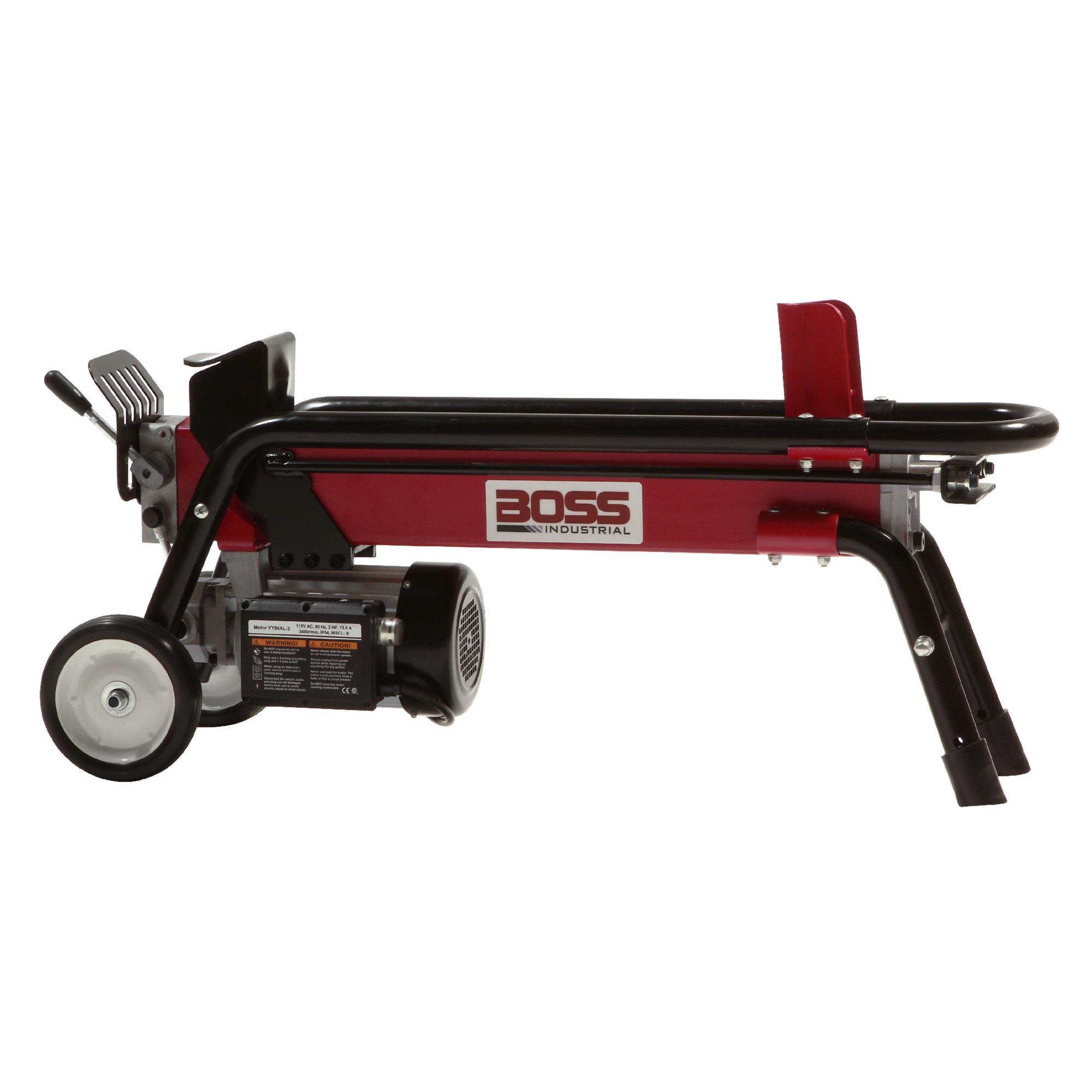 Boss Industrial Es7t20 7 Ton Electric Log Splitter