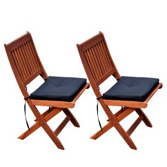Brown Wooden Folding Chairs Chair Covers For Recliners Uk Corliving Miramar Cinnamon Hardwood Outdoor