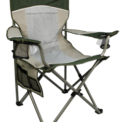Outdoor Sports Chairs Lexington Mission Style Dining Northwest Territory Big Boy Mesh Chair Green Gray