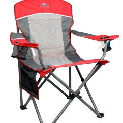 Northwest Territory Chairs Bamboo Back Dining Big Boy Mesh Chair Red Gray Shop