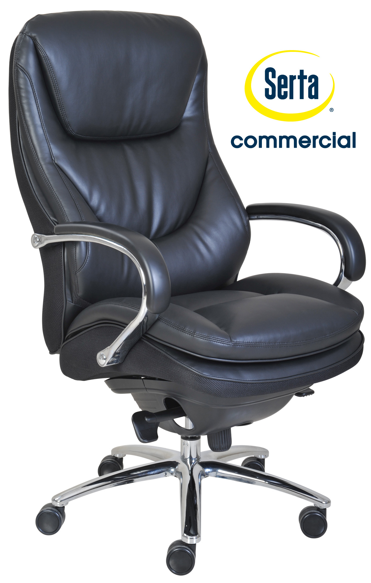 serta office chair warranty claim sofas and chairs smart layers commercial big tall series 500
