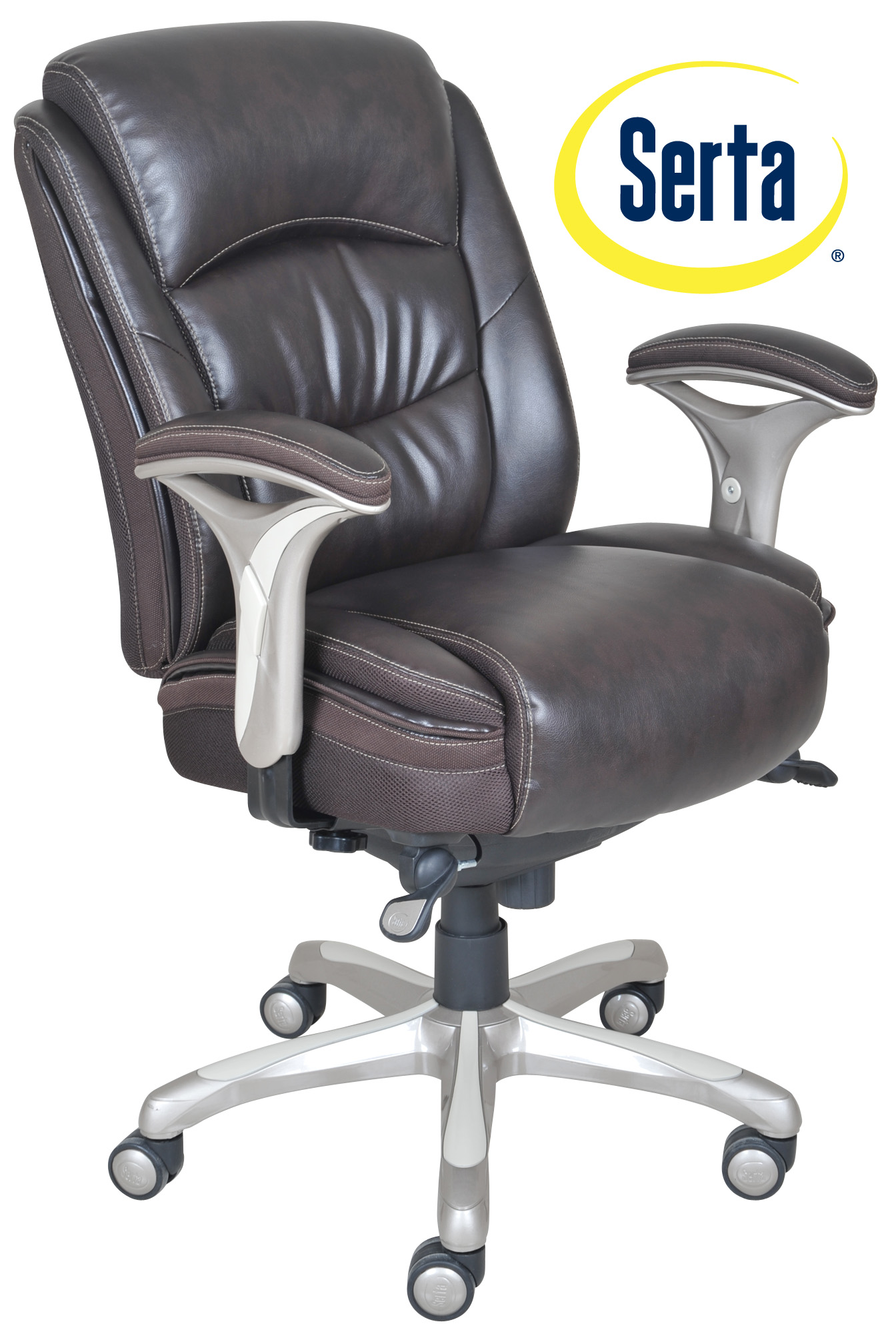 serta bonded leather executive chair cheap dorm chairs smart layers premium elite manager in harmony