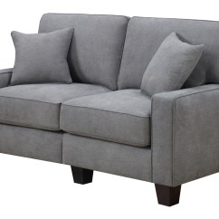 50 Inch Sofas Sofa Stone St Kitts Serta Rta Martinique Collection 61 Quot Fabric Love Seat