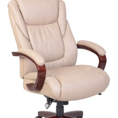 La Z Boy Big Tall Executive Leather Office Chair Black Bathtub For Baby Desk Chairs Sears Miramar Bonded Taupe