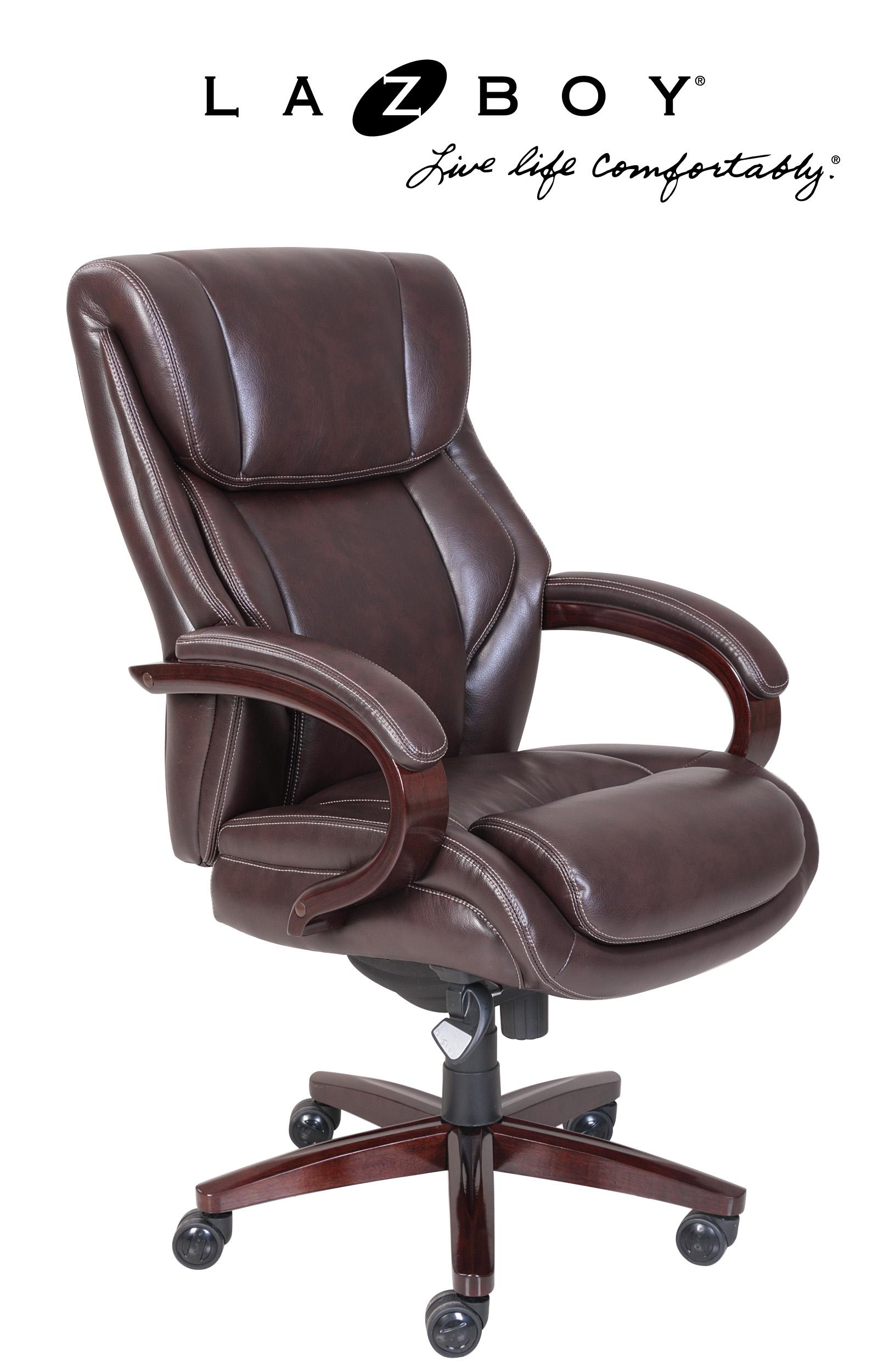 la z boy office chair replacement parts makeup artist folding bellamy comfort core traditions executive