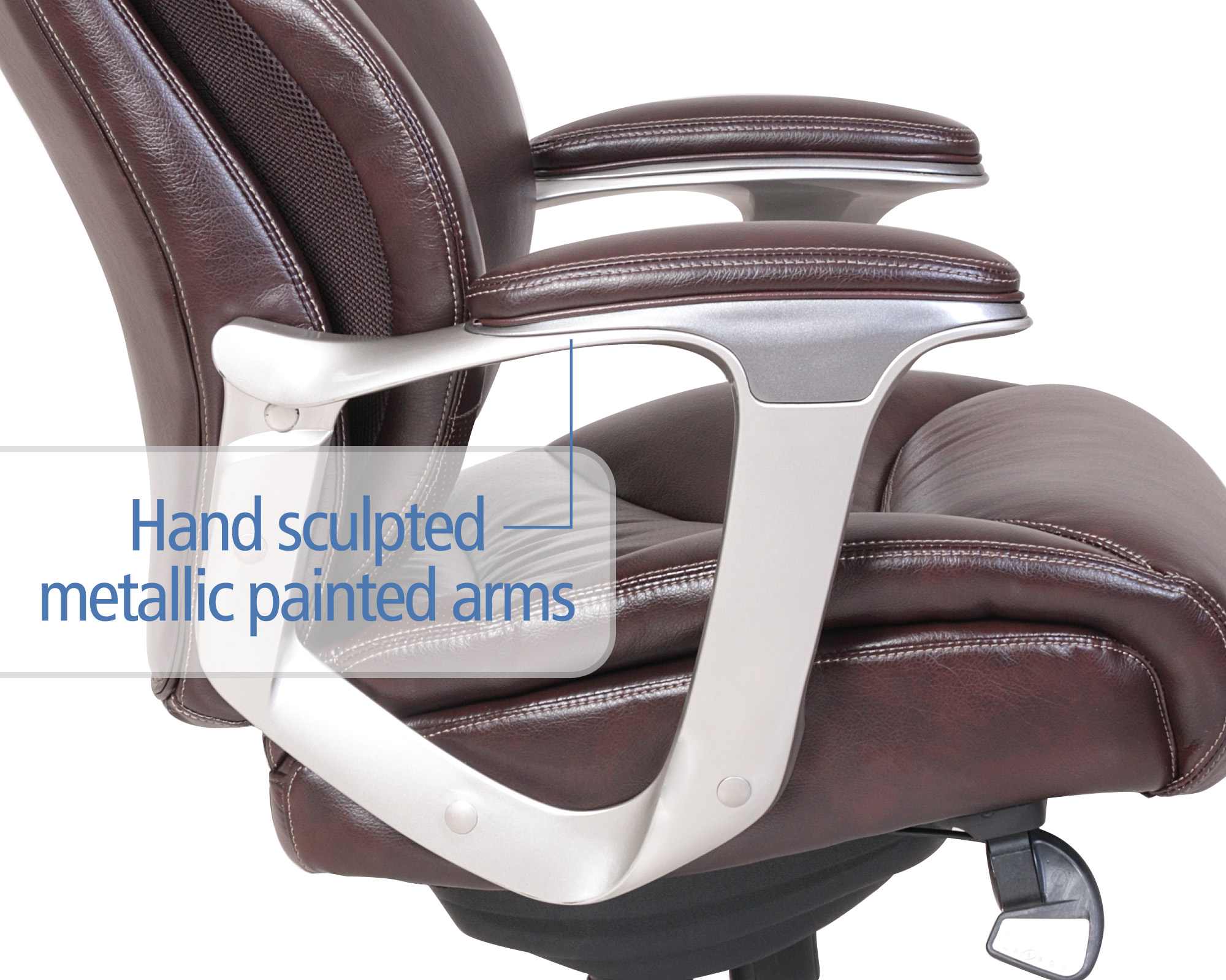 lazboy office chair armrest protectors la z boy cantania comfort core innovations air technology executive