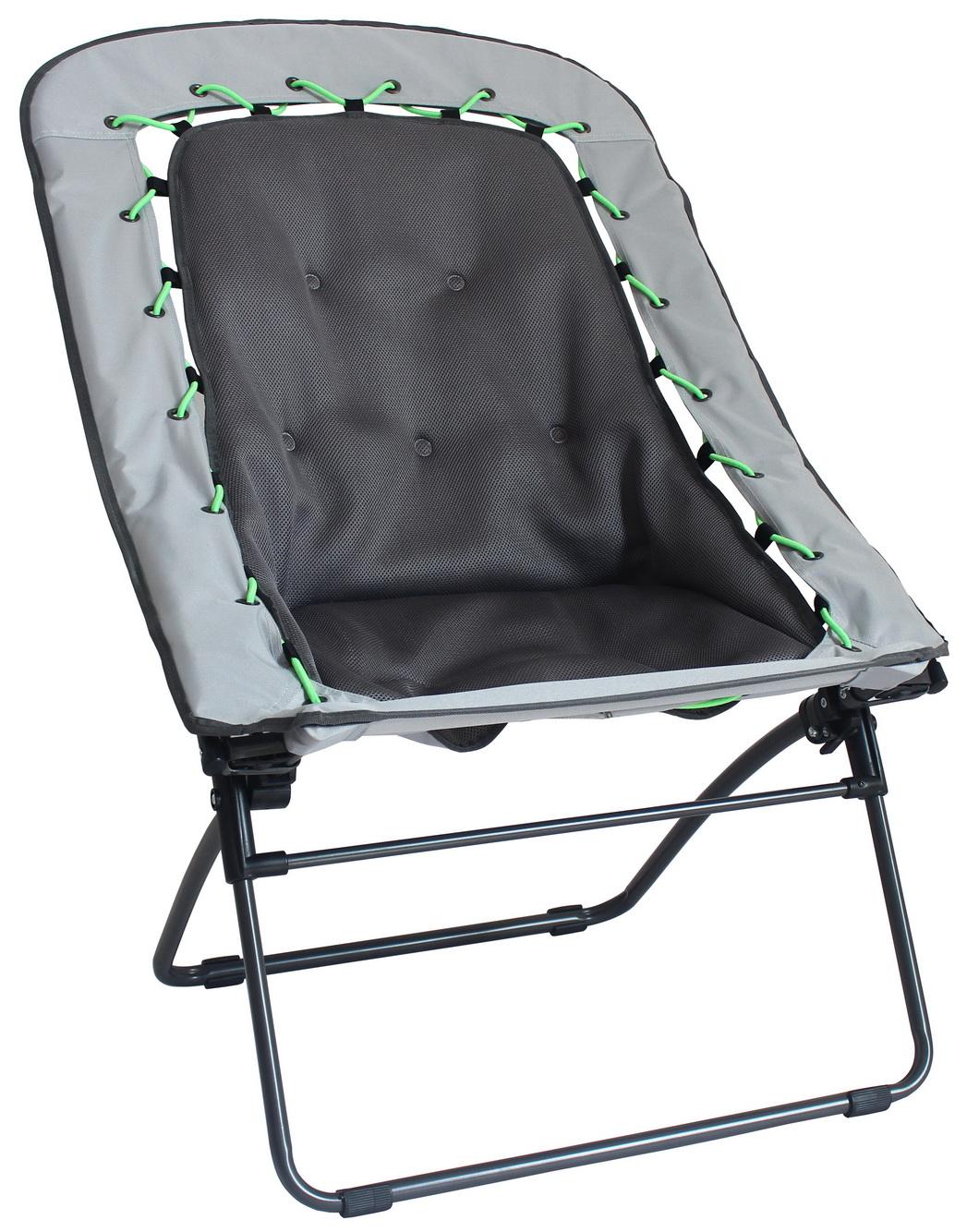 Northwest Territory Oversize Bungee Chair  Gray