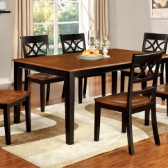 Two Chair Dining Table Outside Rocking Chairs Furniture Of America Tone Adelle Country Style
